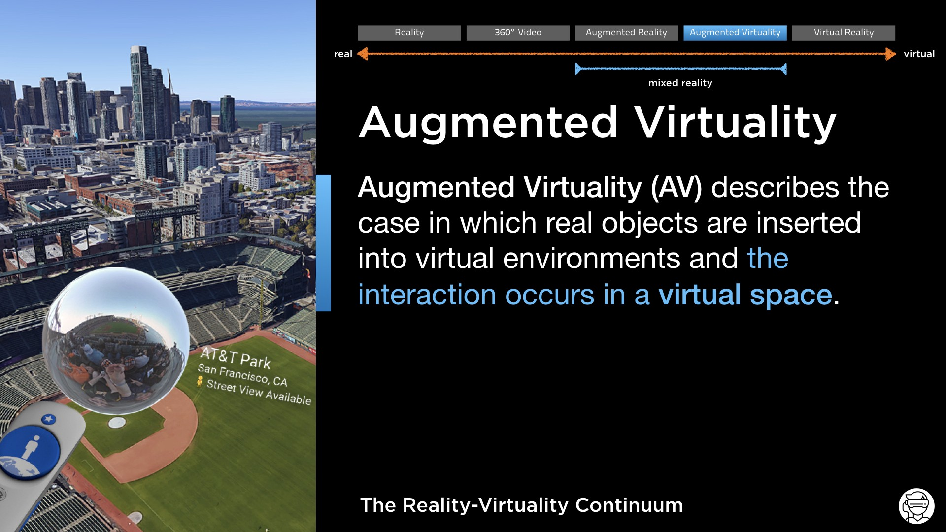Augmented Virtuality